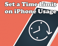 Set a Time Limit on iPhone Usage