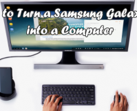 Turn Samsung S8 into a Computer