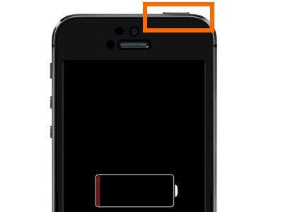 iPhone 5 Power On Button