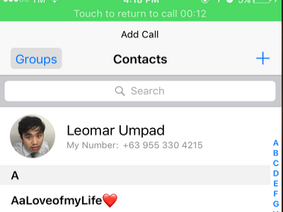 iPhone Add Contact To Call