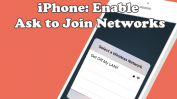 iPhone Ask to Join Networks