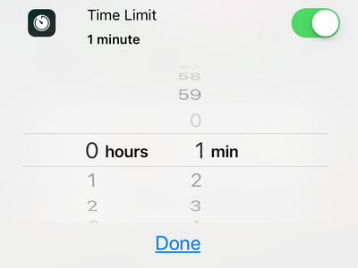 iPhone Set Time Limit To Guided Access