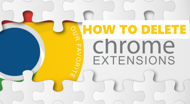 delete google chrome extentions