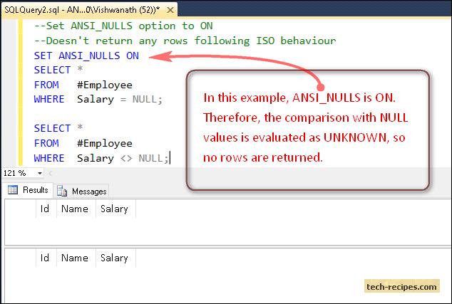ANSI_NULLS_ON_SQL_Server