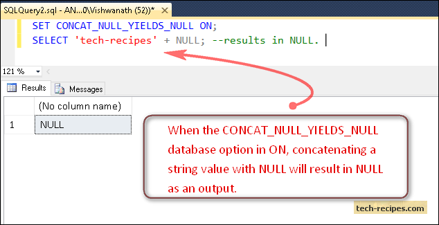 CONCAT_NULL_YIELDS_NULL_ON