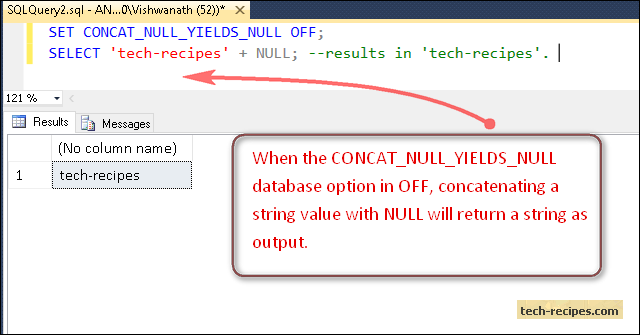 CONCAT_NULL_YIELDS_NULL_OFF