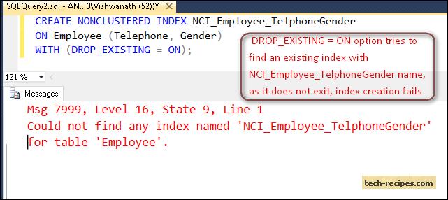 SQL_Server_DROP_EXISTING_ON_INDEX