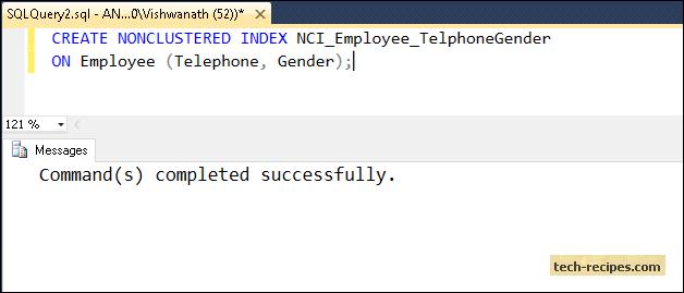 SQL_Server_Create_Non_Clustered_Index
