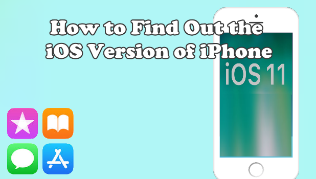 Find Out the iOS version of iPhone