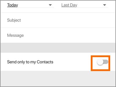 Gmail App Menu Settings Gmail Account Vacation Responder Only to Contacts