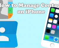 How to Manage Contacts on iPhone
