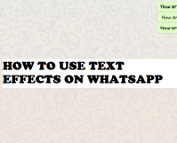 use text effects on whatsapp