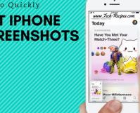 Quickly Edit iPhone Screenshot