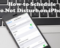 Schedule Do Not Disturb Mode on iPhone