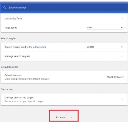 delete history from google chrome