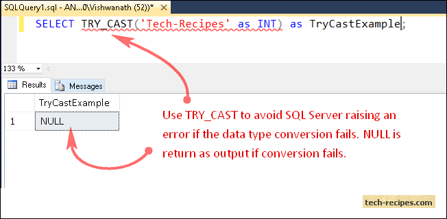 TRY_CAST_Function_SQL_Server