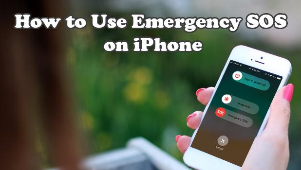 Use Emergency SOS on iPhone