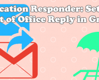 how to Set up out office reply in gmail using vacation responder