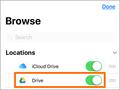iPhone File Apps Locations Edit Choose App