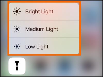 iPhone Flash Led Lighting Page