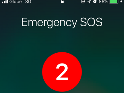 iPhone Settings Emergency SOS Auto Call Countdown