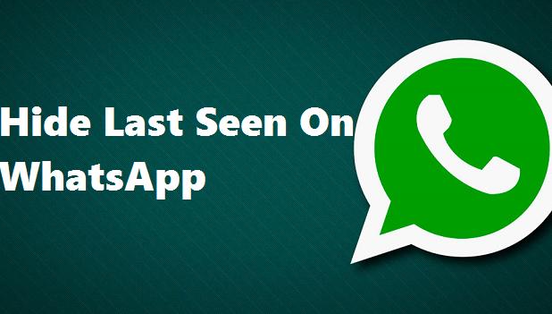 hide last seen on whatsapp