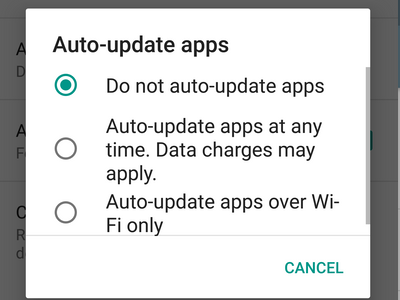 Android Playstore Menu Upward Swipe Settings Auto update Apps Options