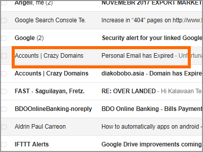 Gmail Choose Email