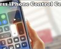 How to Access iPhone Control Center