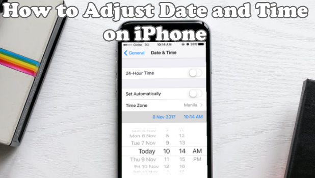 How to change the date on iphone