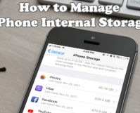 How to Manage iPhone Stoage