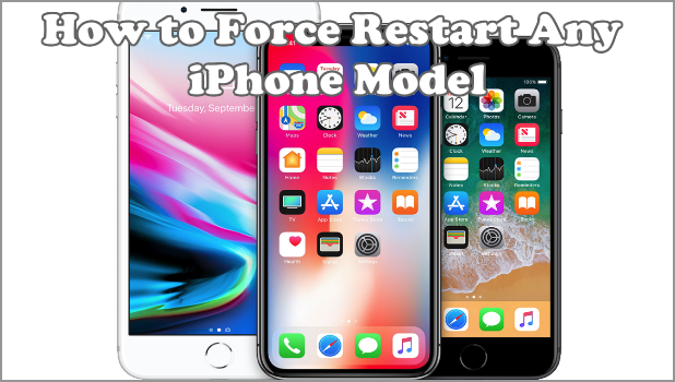 force shutdown iphone how to restart any iphone model 10634