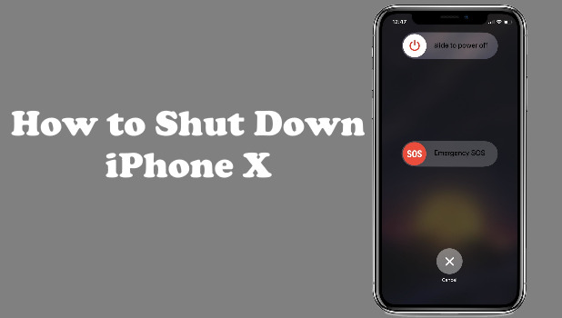 Shut Off Iphone X
