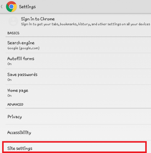 translate a Page in Google Chrome