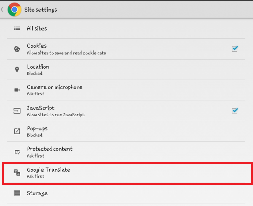 How To Translate A Page In Google Chrome