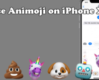 Use Animoji on iPhone X