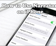 Use Narrator on iPhone
