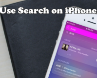 Use Search on iPhone