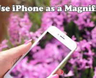 Use iPhone as a Magnifier