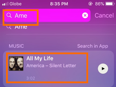 iPhone Search Siri App Suggestions Appearing