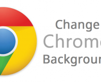 change google chrome background