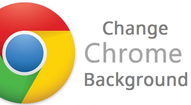 how to change google chrome background new look