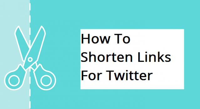 shorten links for twitter