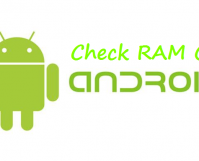 check ram on android