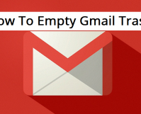 empty gmail trash