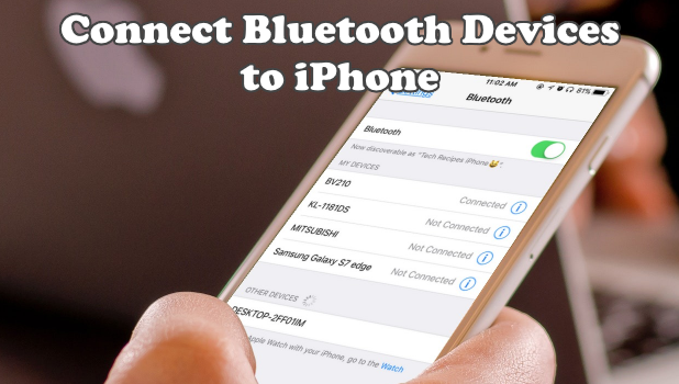 Connect Bluetooth Accessories to iPhone