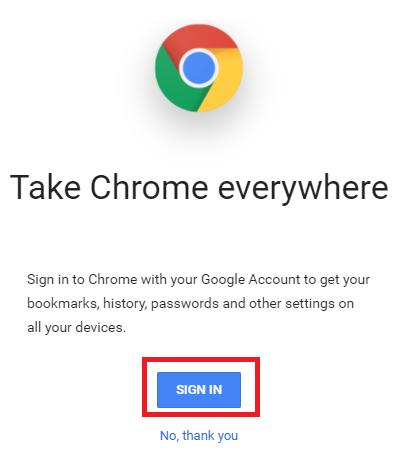 lock google chrome with password