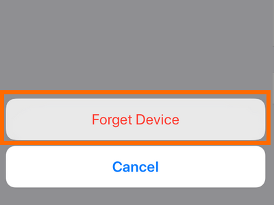 iPhone Settings Bluetooth Device Other Info Button Forger Device Confirm