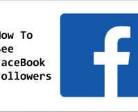 see followers on Facebook