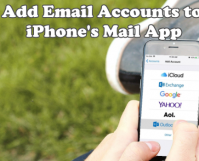 Add Email Accounts to iPhone Mail App